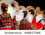 abstract blur moving with... | Shutterstock . vector #448817368