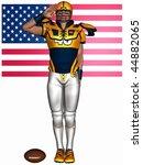 football player | Shutterstock . vector #44882065
