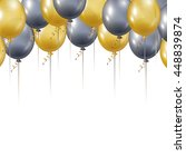Gold And Silver Balloons....