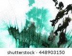 macro wash watercolor... | Shutterstock . vector #448903150