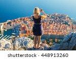 Female Traveller Make A...