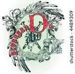 vintage emblem | Shutterstock .eps vector #4489309