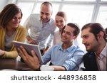 creative business people... | Shutterstock . vector #448936858