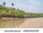 agonda beach  goa  india | Shutterstock . vector #448940398