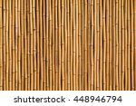 Bamboo Fence Or Wall Texture...