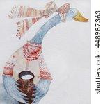 original bright background with ... | Shutterstock . vector #448987363