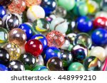 Close Up Of A Bunch Of Marbles...