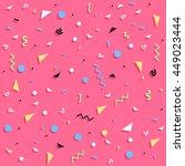 geometric seamless pattern ... | Shutterstock .eps vector #449023444
