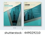 brochure design. corporate... | Shutterstock .eps vector #449029210