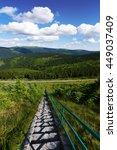 jeseniky mountains in nice... | Shutterstock . vector #449037409