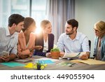 group of business people... | Shutterstock . vector #449055904