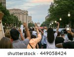 washington  d.c.   july 07 2016 ... | Shutterstock . vector #449058424