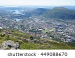bergen  norway   panorama | Shutterstock . vector #449088670