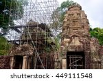 seam reap  cambodia   june 17 ... | Shutterstock . vector #449111548