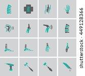 orthopedic and spine symbol... | Shutterstock .eps vector #449128366