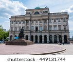 warsaw  poland   3 june 2016  ... | Shutterstock . vector #449131744