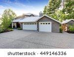 modern luxury house exterior... | Shutterstock . vector #449146336