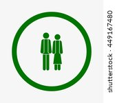love couple symbol | Shutterstock .eps vector #449167480