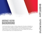 vector background with french... | Shutterstock .eps vector #449168848