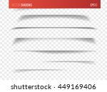realistic vector shadow with... | Shutterstock .eps vector #449169406