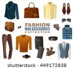 flat design fashion business... | Shutterstock .eps vector #449172838
