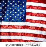 american flag background | Shutterstock . vector #44921257