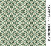 seamless christmas pattern in... | Shutterstock .eps vector #449216950