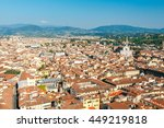 florence. church of santa croce. | Shutterstock . vector #449219818