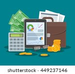 business and finance concept... | Shutterstock . vector #449237146