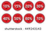 sale 10   15   20   30   40  ... | Shutterstock .eps vector #449243143