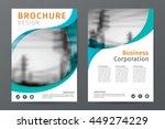 abstract  business  brochure... | Shutterstock .eps vector #449274229