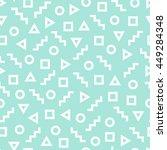 geometric seamless pattern... | Shutterstock .eps vector #449284348