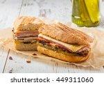 cubanito. traditional cuban... | Shutterstock . vector #449311060