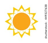 sun icon | Shutterstock .eps vector #449327638