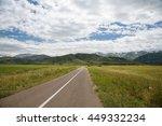 nature landscape  green... | Shutterstock . vector #449332234