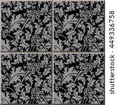 Ceramic Tile Pattern 317_silve...