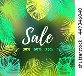 sale 30  50  70  vector... | Shutterstock .eps vector #449346040
