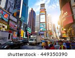 new york city   june 14  2016 ... | Shutterstock . vector #449350390