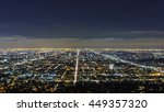beautiful los angeles downtown... | Shutterstock . vector #449357320