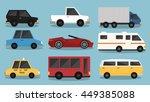 9 vehicle vectors | Shutterstock .eps vector #449385088