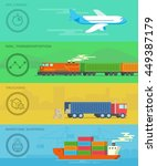 vector transportation and...   Shutterstock .eps vector #449387179