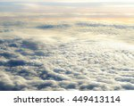 A Little Blurred Above Clouds...