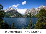 grand teton national park | Shutterstock . vector #449423548