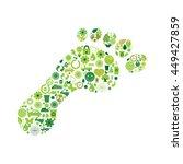 ecological symbols | Shutterstock .eps vector #449427859