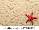 starfish patterns with red...   Shutterstock . vector #449432038