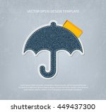 vector stitched padded umbrella ...
