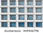 Symmetrical Grid Of Windows In...