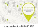 digital map | Shutterstock .eps vector #449491930