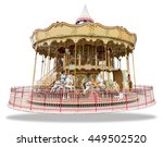 Merry Go Round Isolated On...