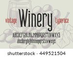 """classic typeface named """"vintage ... 